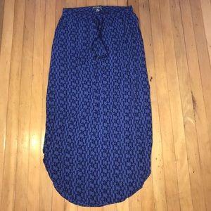 Eddie Bauer Pattern Maxi Skirt